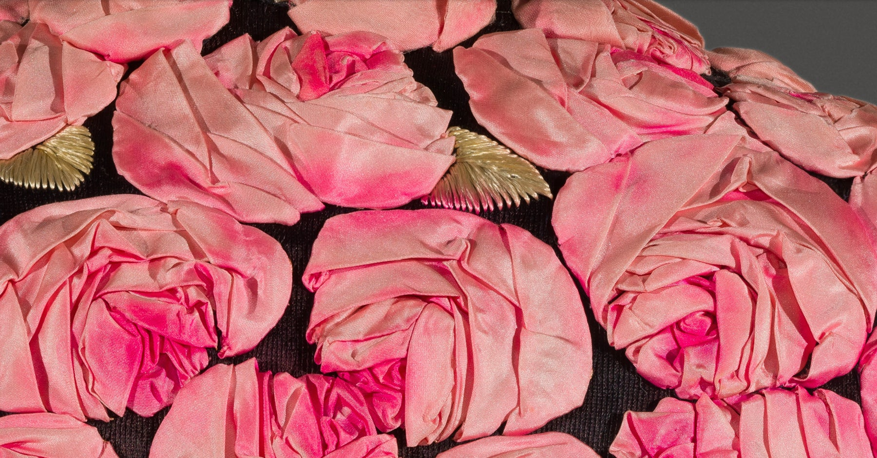 A Gigapixel image of a Schiaparelli evening coat from the Victoria & Albert Museum on Google Arts & Culture | Source: Google