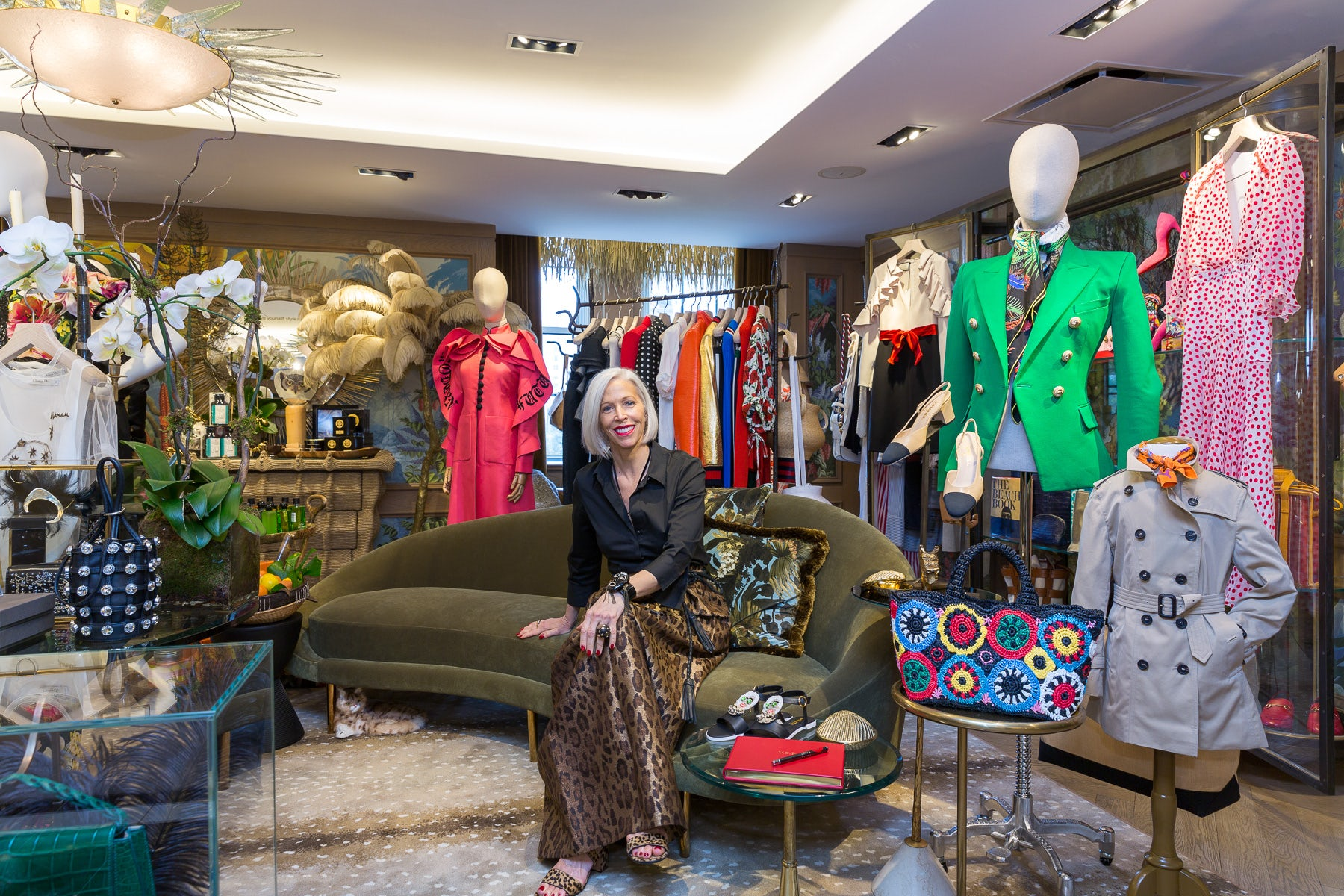 Linda Fargo at Bergdorf Goodman | Source: Courtesy