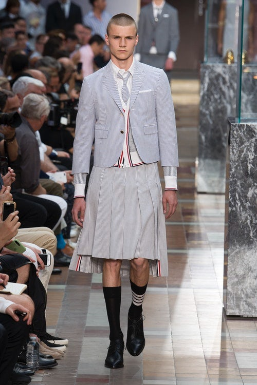 Thom Browne Spring/Summer 2018 | Source: InDigital.tv