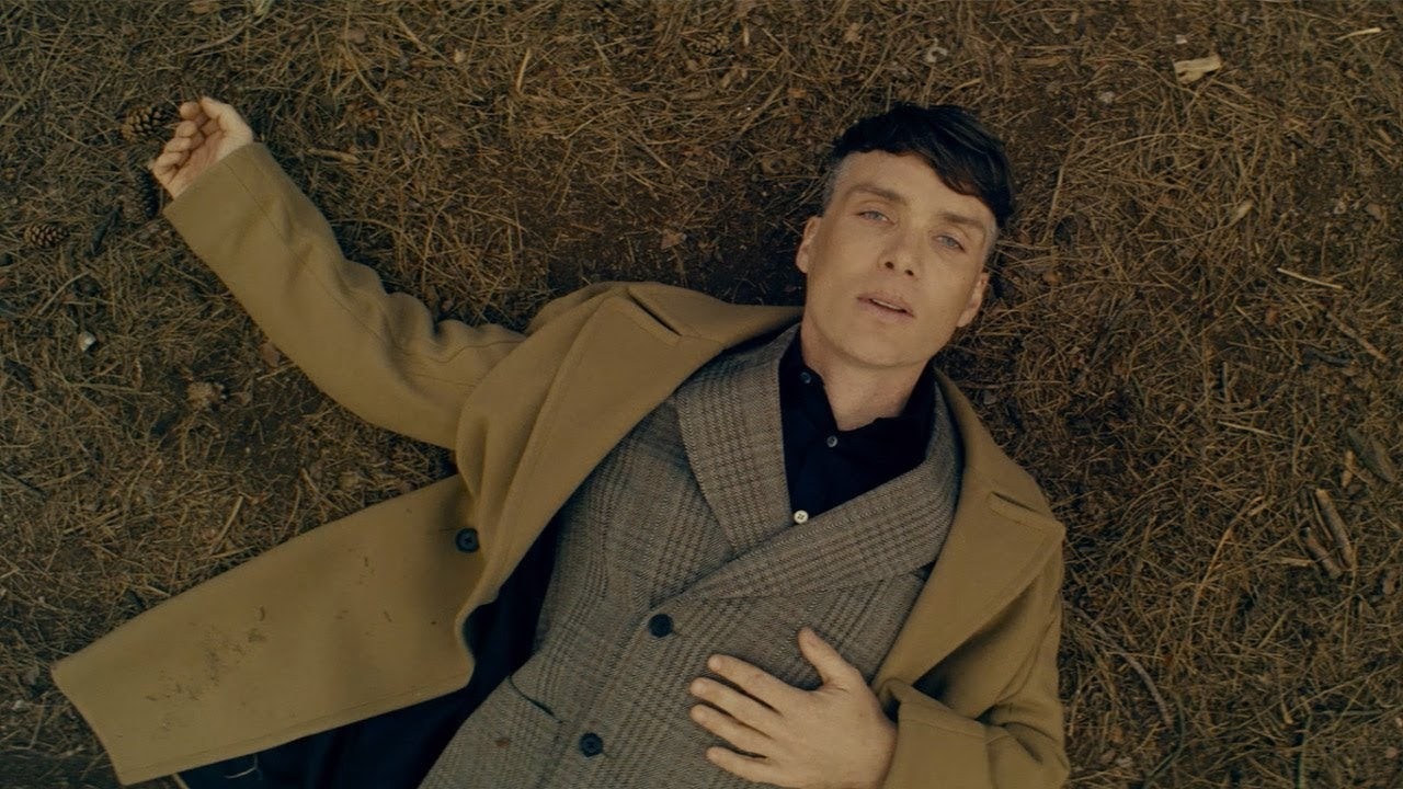 Cillian Murphy in 'Black Park,' a short film by Sean Ellis to celebrate Stella McCartney's debut menswear collection | Source: Courtesy