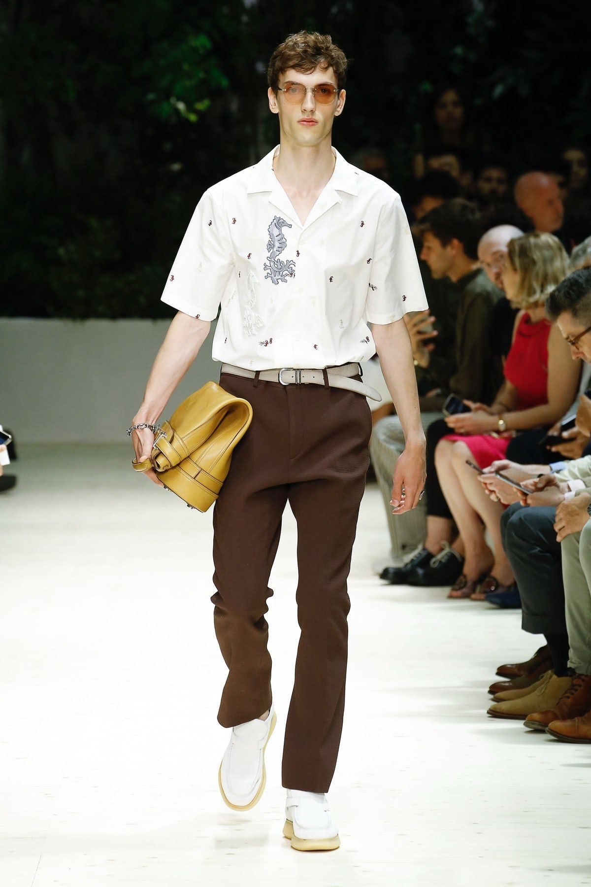 Salvatore Ferragamo Spring/Sumer 2018 | Source: InDigital.tv