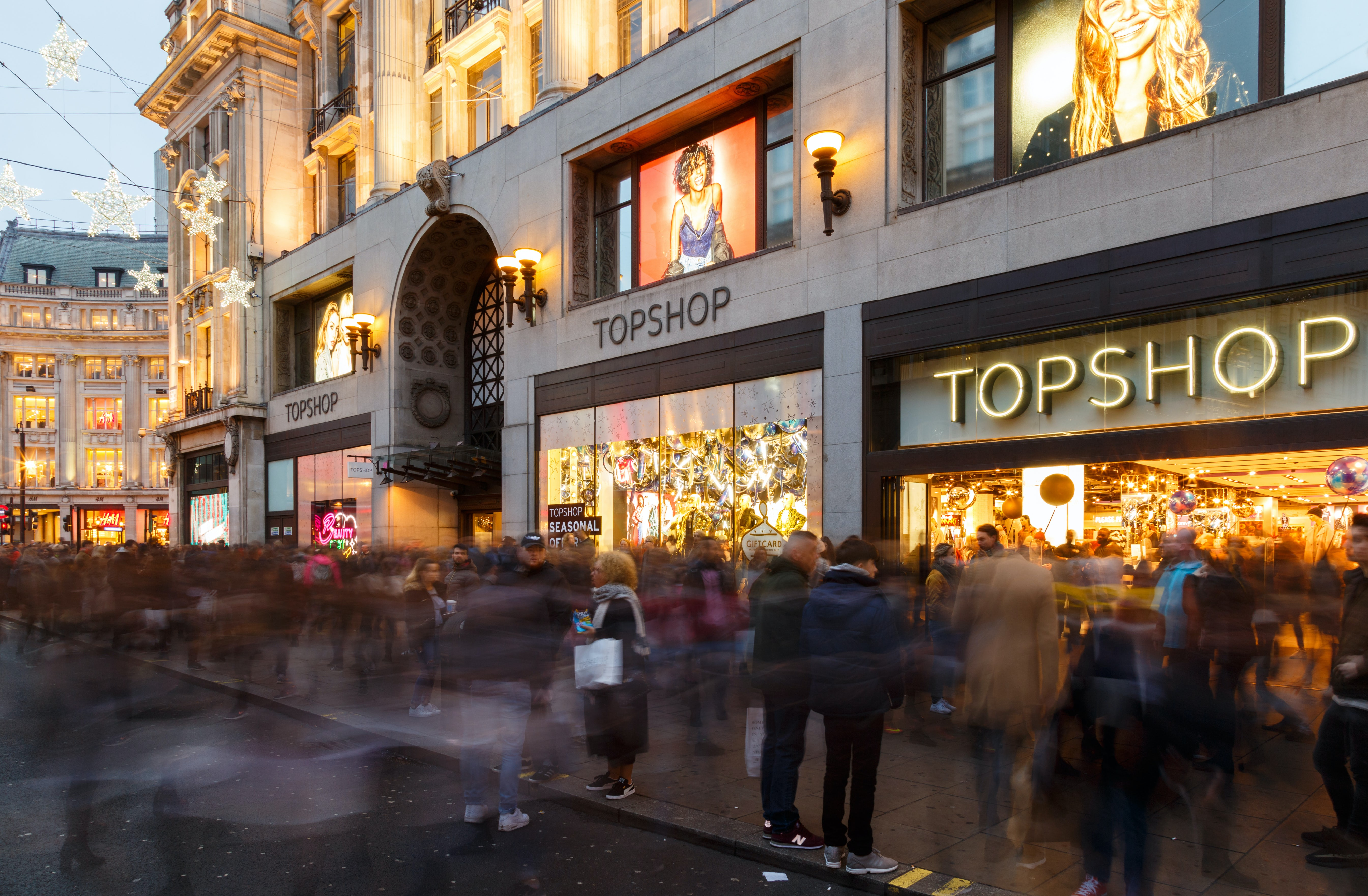 The Topshop flagship in London | Source: Shutterstock