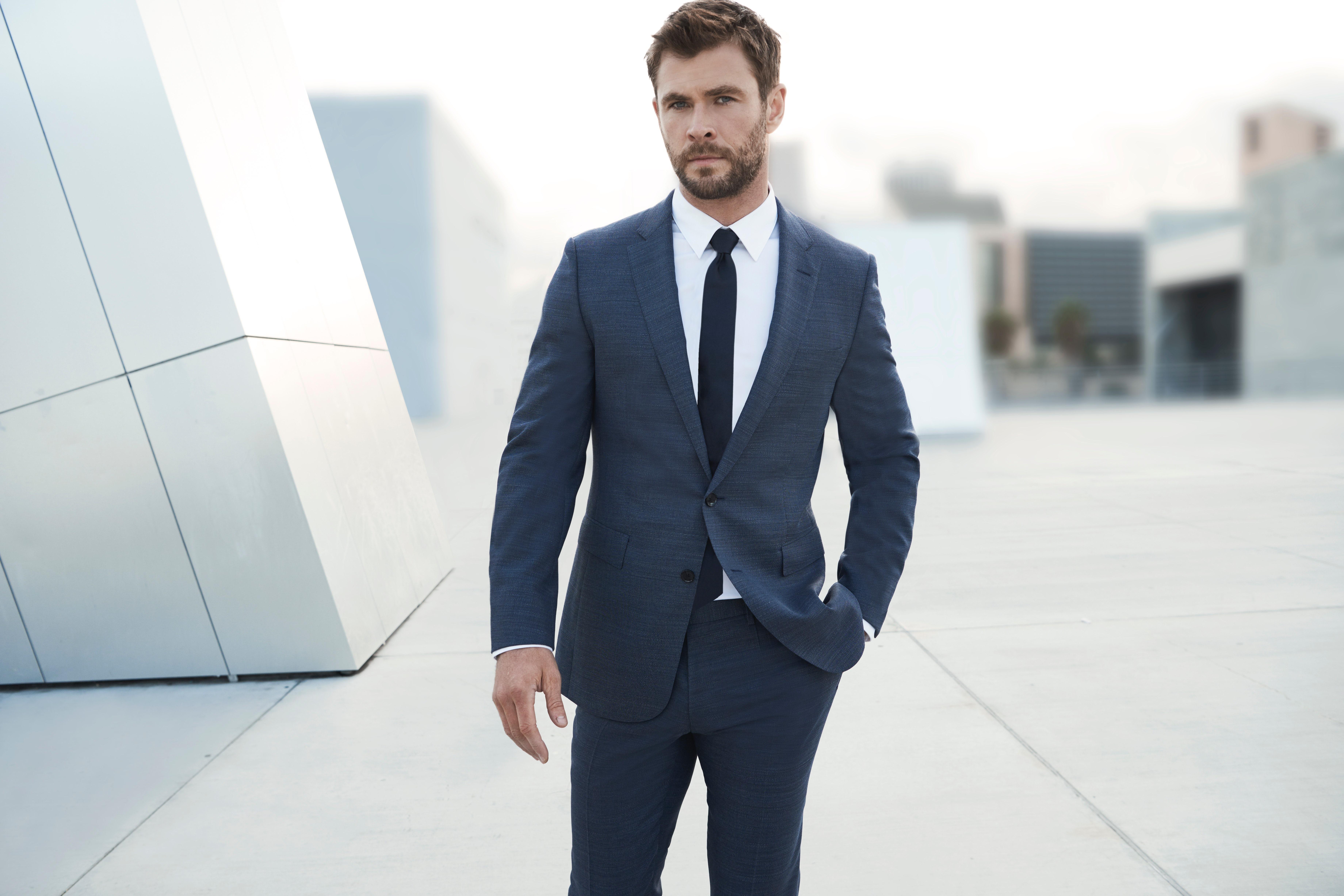 Chris Hemsworth for Boss Bottled | Source: Courtesy