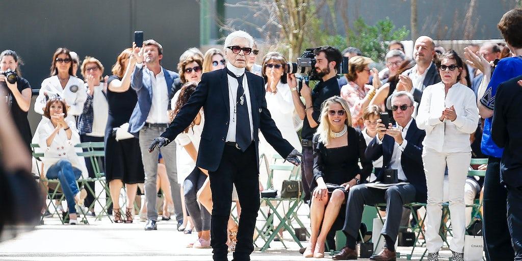 28d4f6e25d07 Karl Lagerfeld Dies in Paris