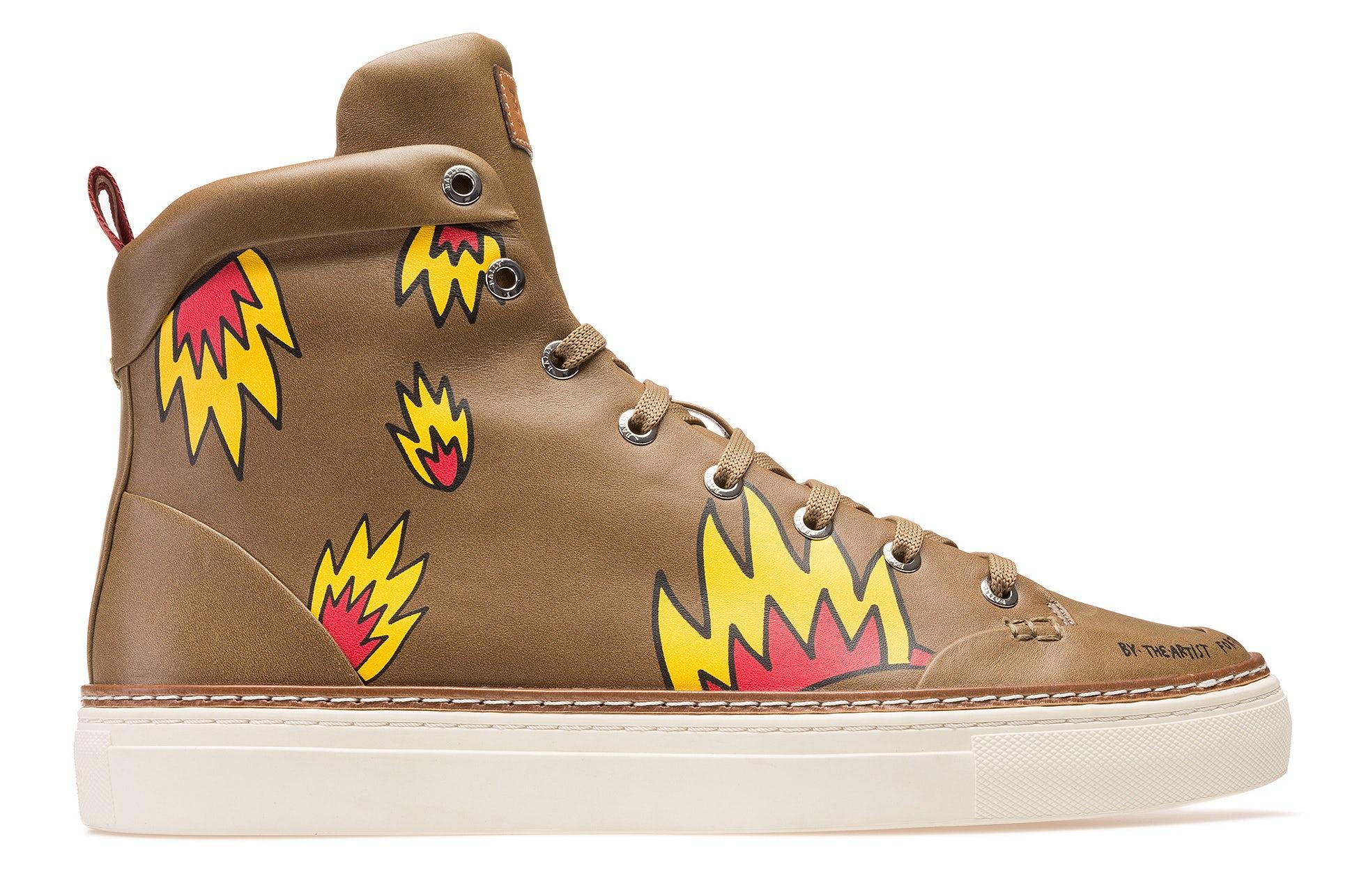 Bally x Swizz Beatz men's Hercules Shoe | Source: Courtesy