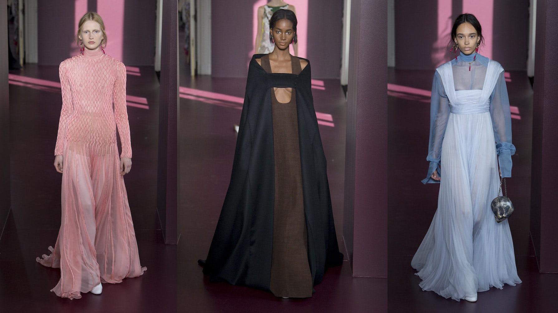 Confusion reigns at paris couture fashion show review for Haute couture clients