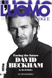 David Beckham on the latest cover of L'Uomo Vogue   Source: Courtesy
