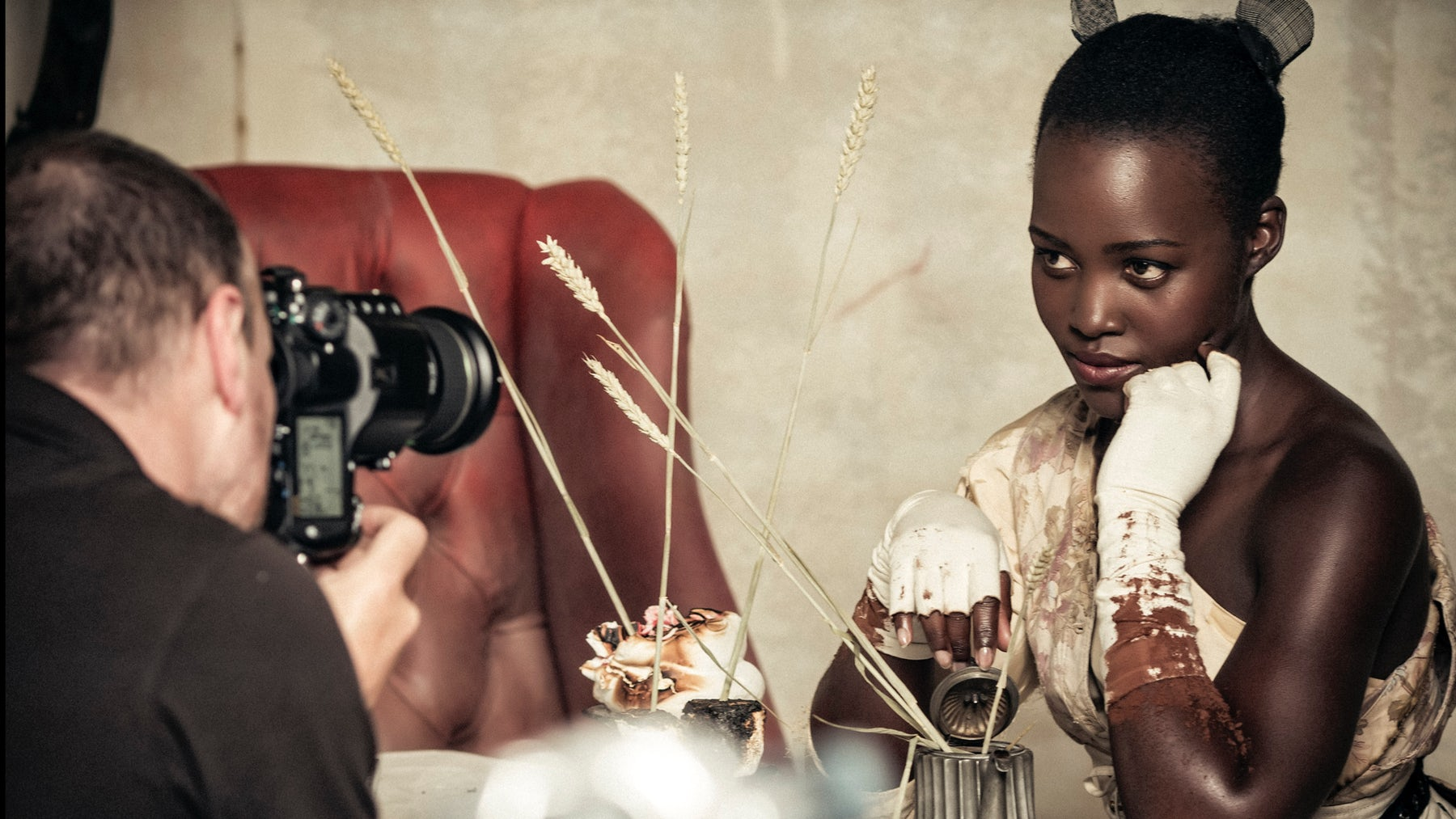 Lupita Nyong'o in the 2018 Pirelli Calendar | Source: Courtesy of Pirelli