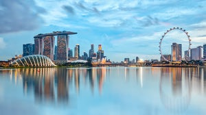 Singapore skyline   Source: Shutterstock