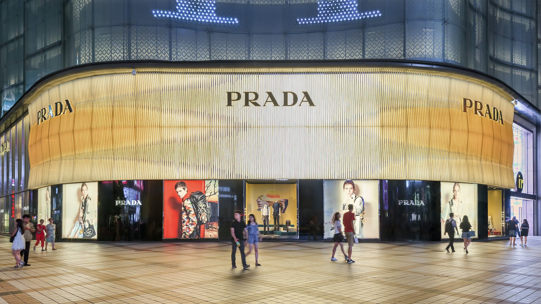 Prada flagship store in Beijing | Source: Shutterstock