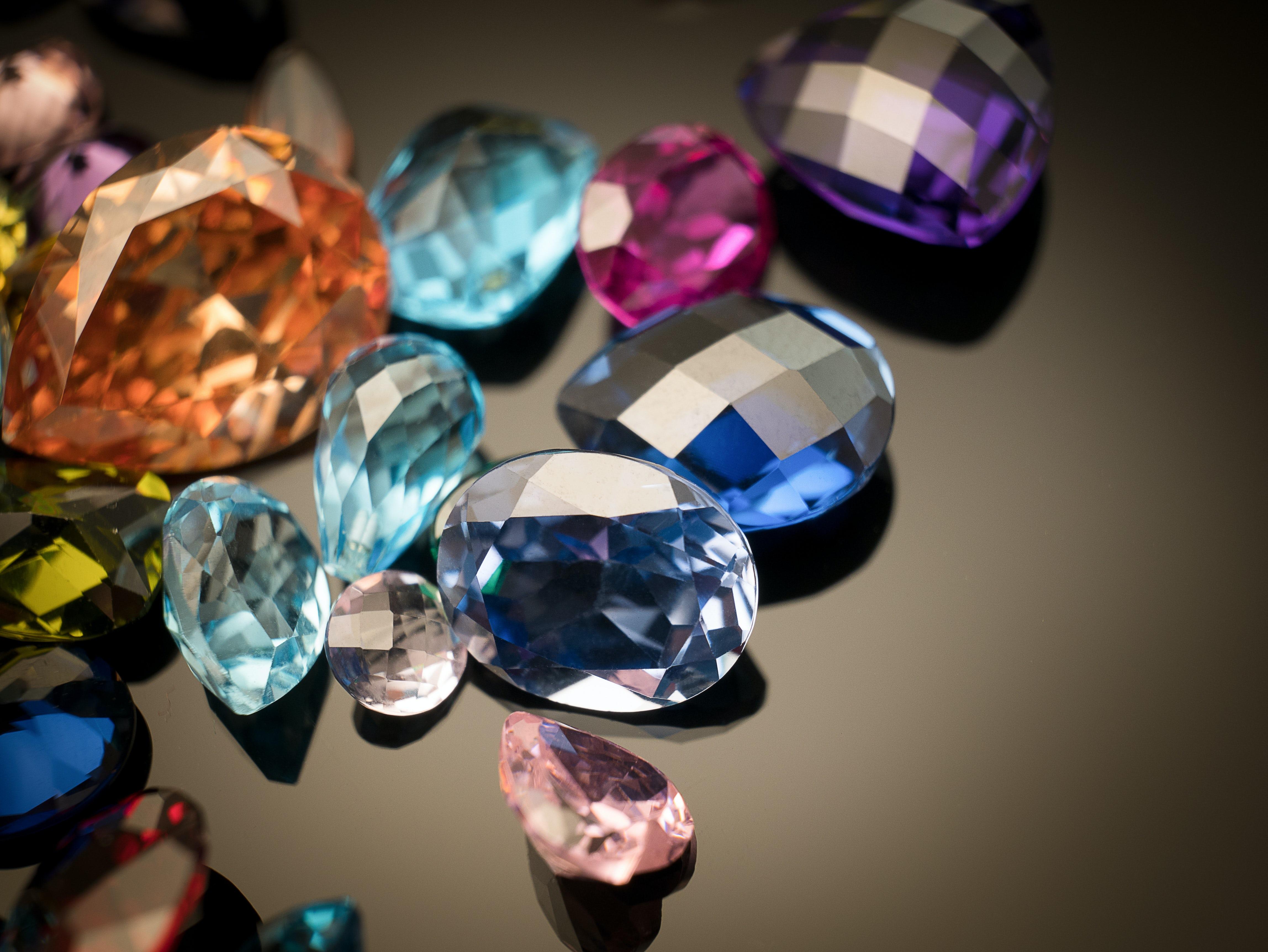Coloured gemstones   Source: Shutterstock