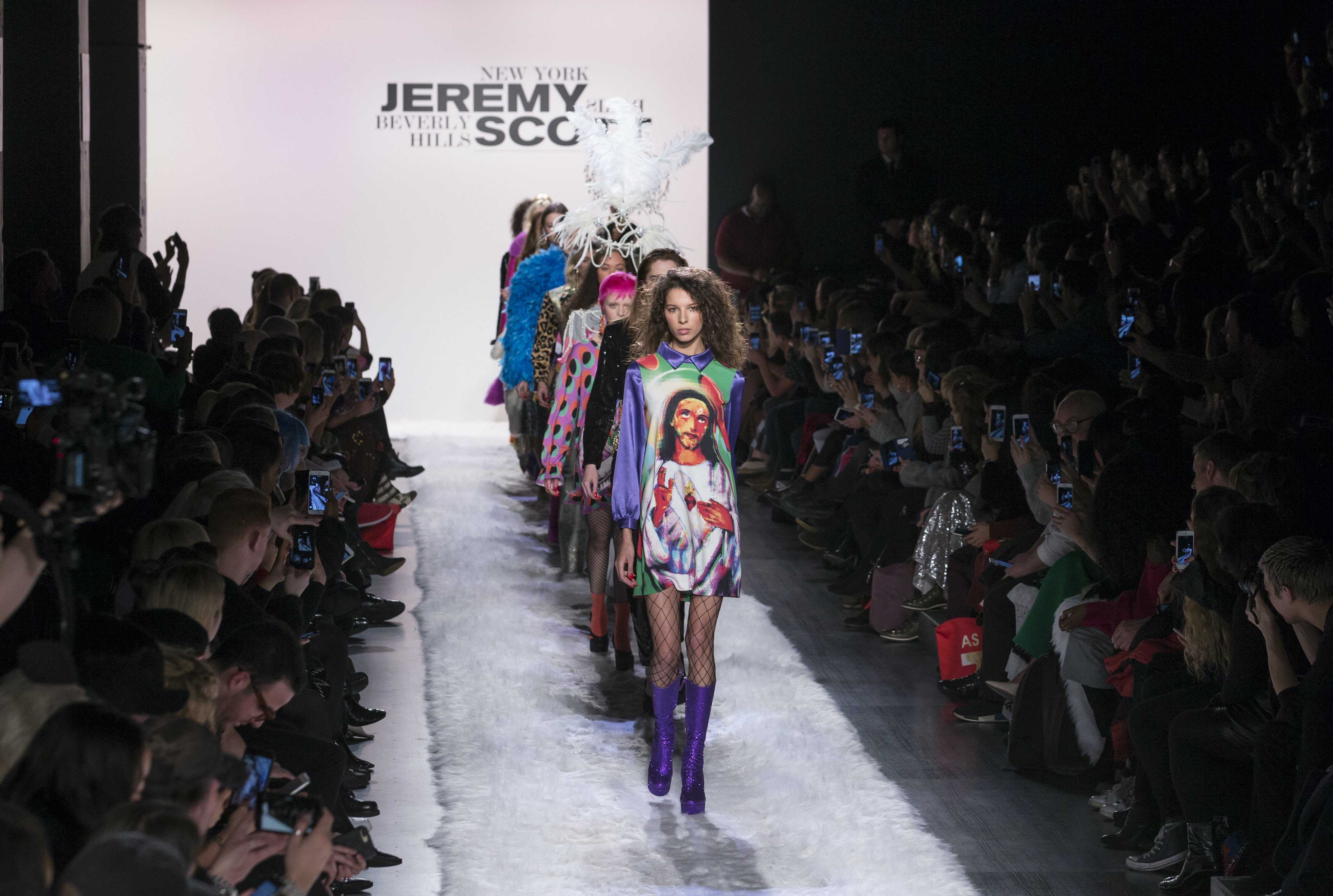 Jeremy Scott Autumn/Winter 2017 at New York Fashion Week's Clarkson Square venue | Source: Shutterstock