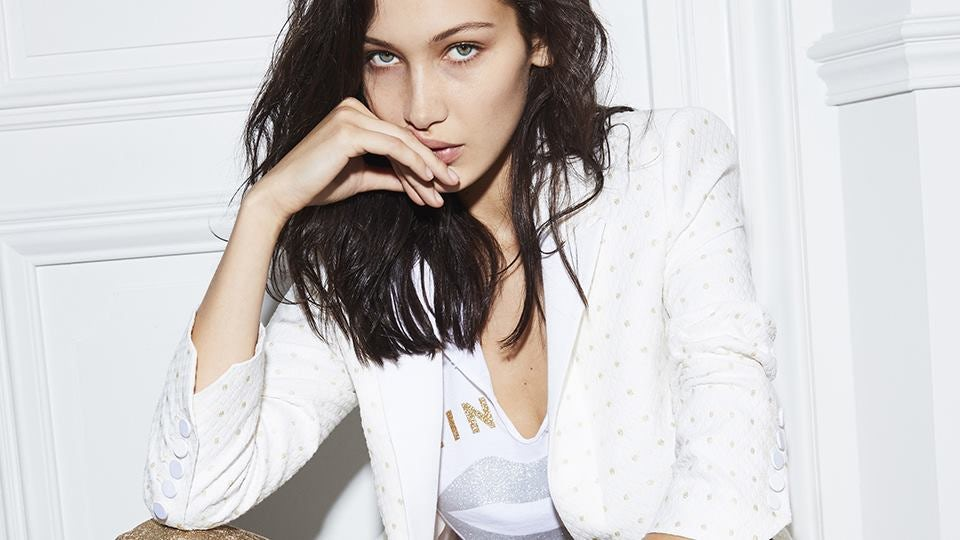 Bella Hadid for Zadig & Voltaire Spring/Summer 2017 | Source: Courtesy