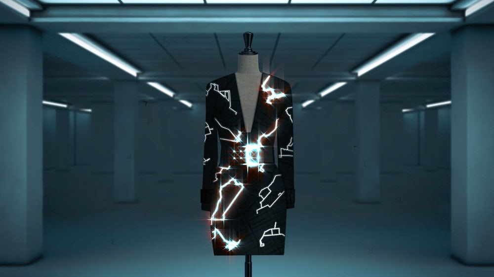 Google and H&M's Ivyrevel coded couture project   Source: Courtesy