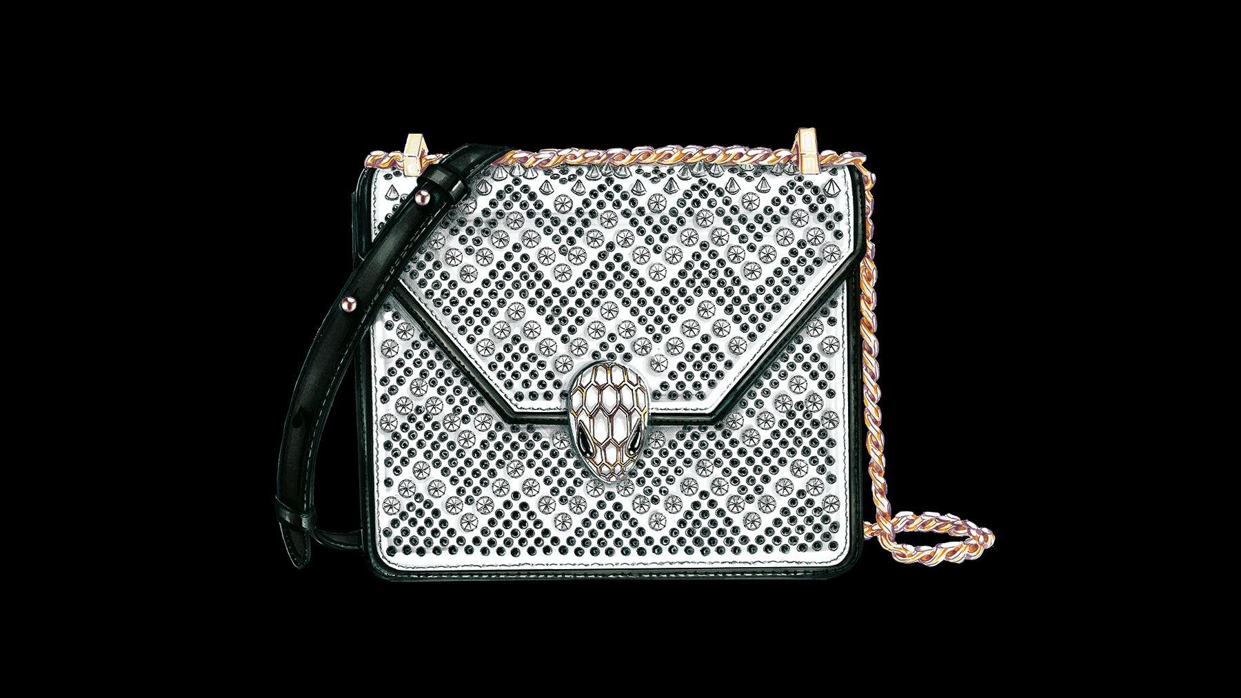 Article cover of Nicholas Kirkwood Dips Into Handbags With Bulgari