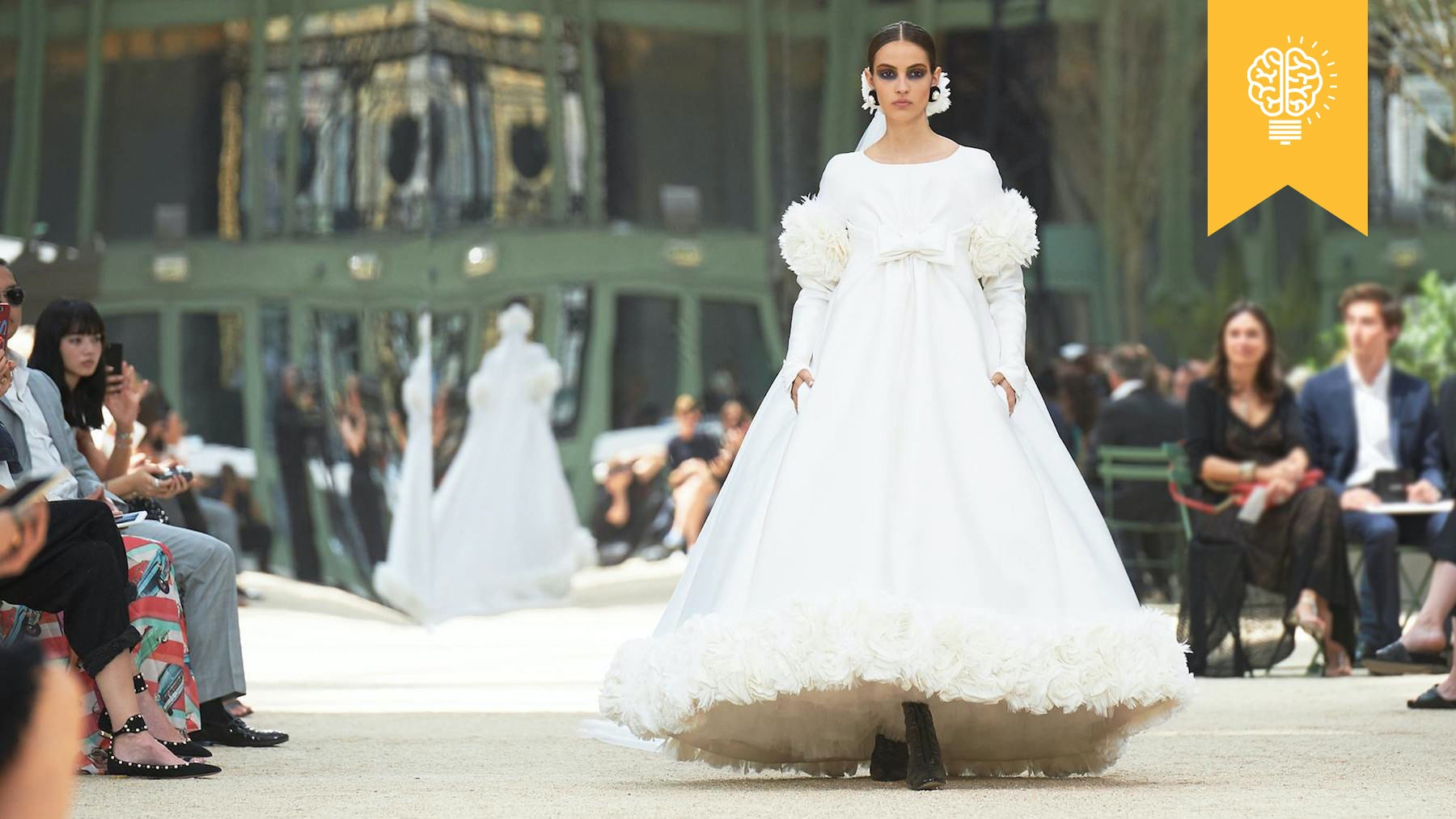 Chanel Haute Couture Autumn/Winter 2017   Source: Chanel