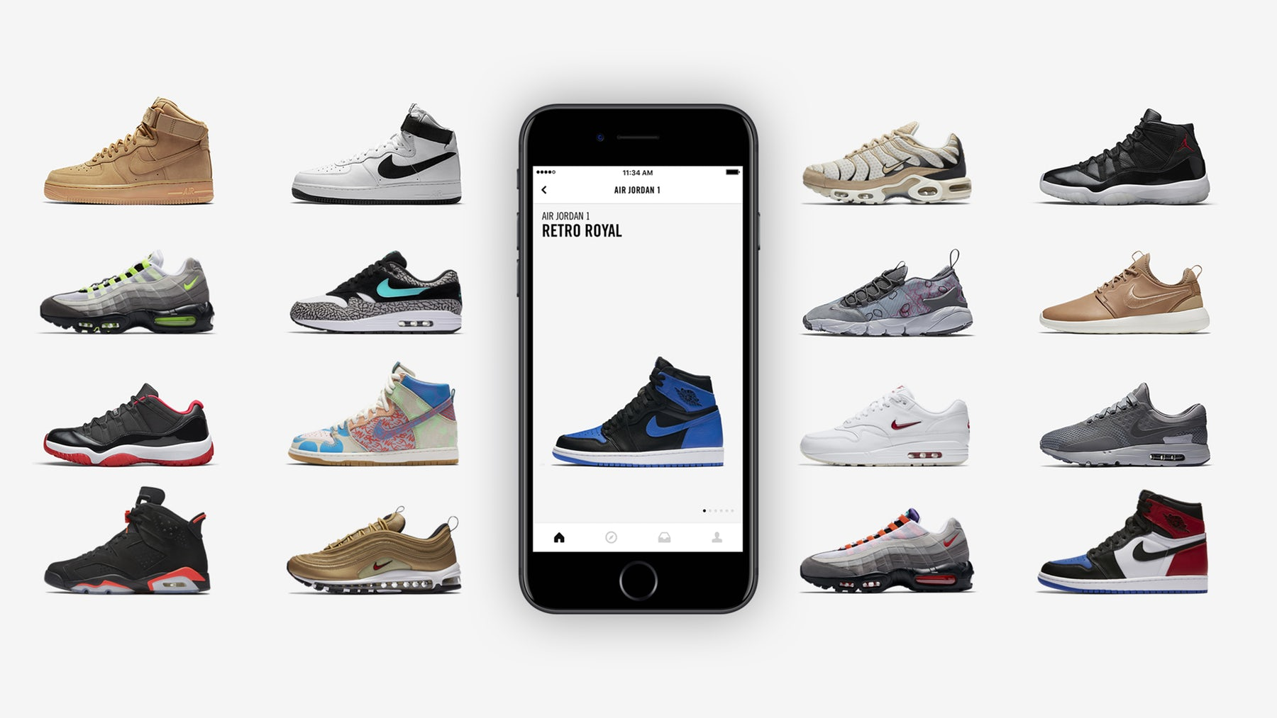 Nike SNEAKRS app | Source: Courtesy