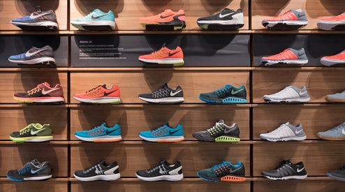 bce664b7d67d5 Nike Hits Record High as Investors Shrug Off Executive Upheaval ...