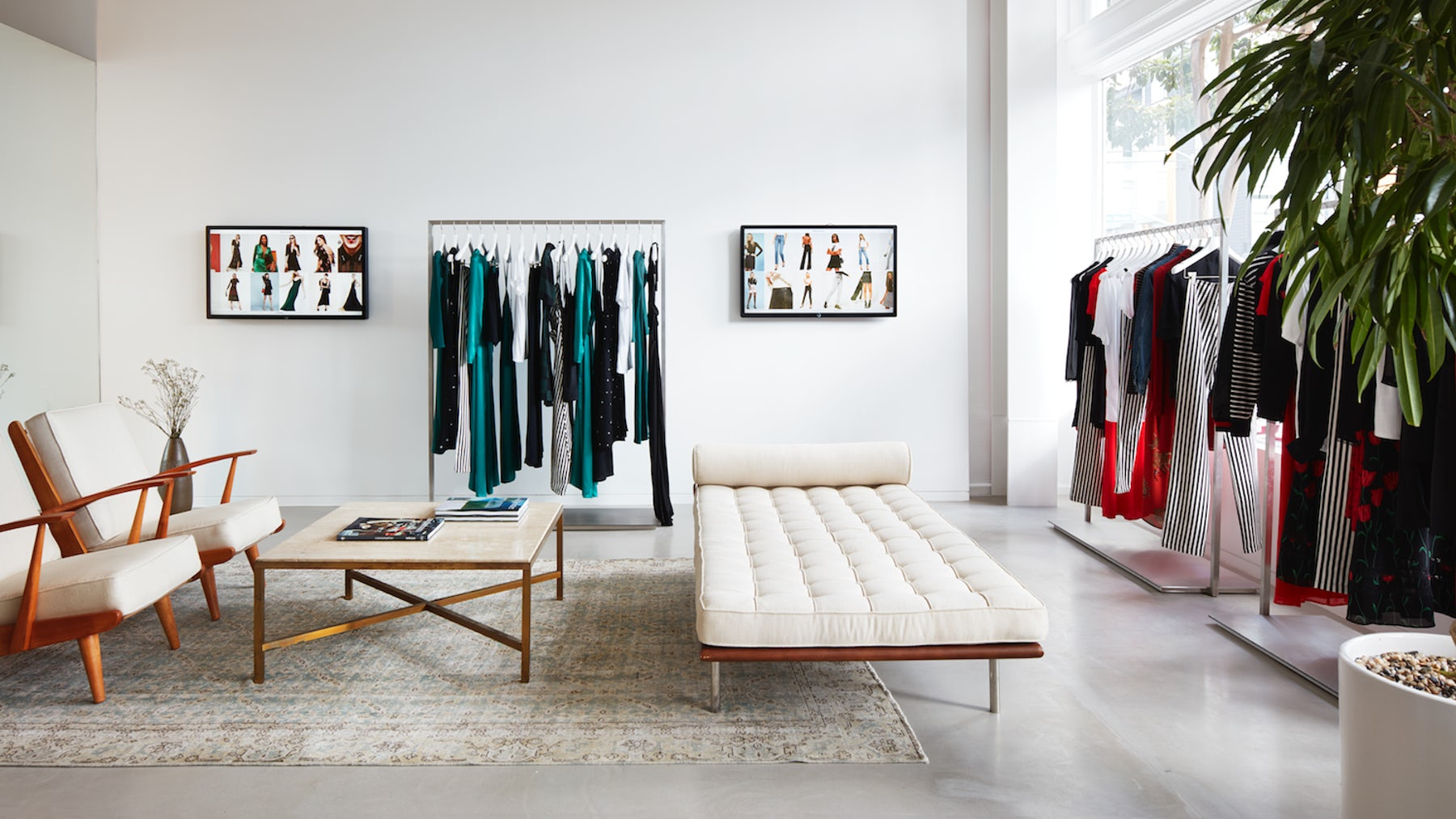 Reformation's first tech-enabled store in San Francisco | Source: Courtesy