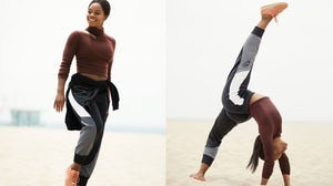 Olympic Gymnast Gabby Douglas in the Cortez by A.L.C. campaign | Source: Courtesy