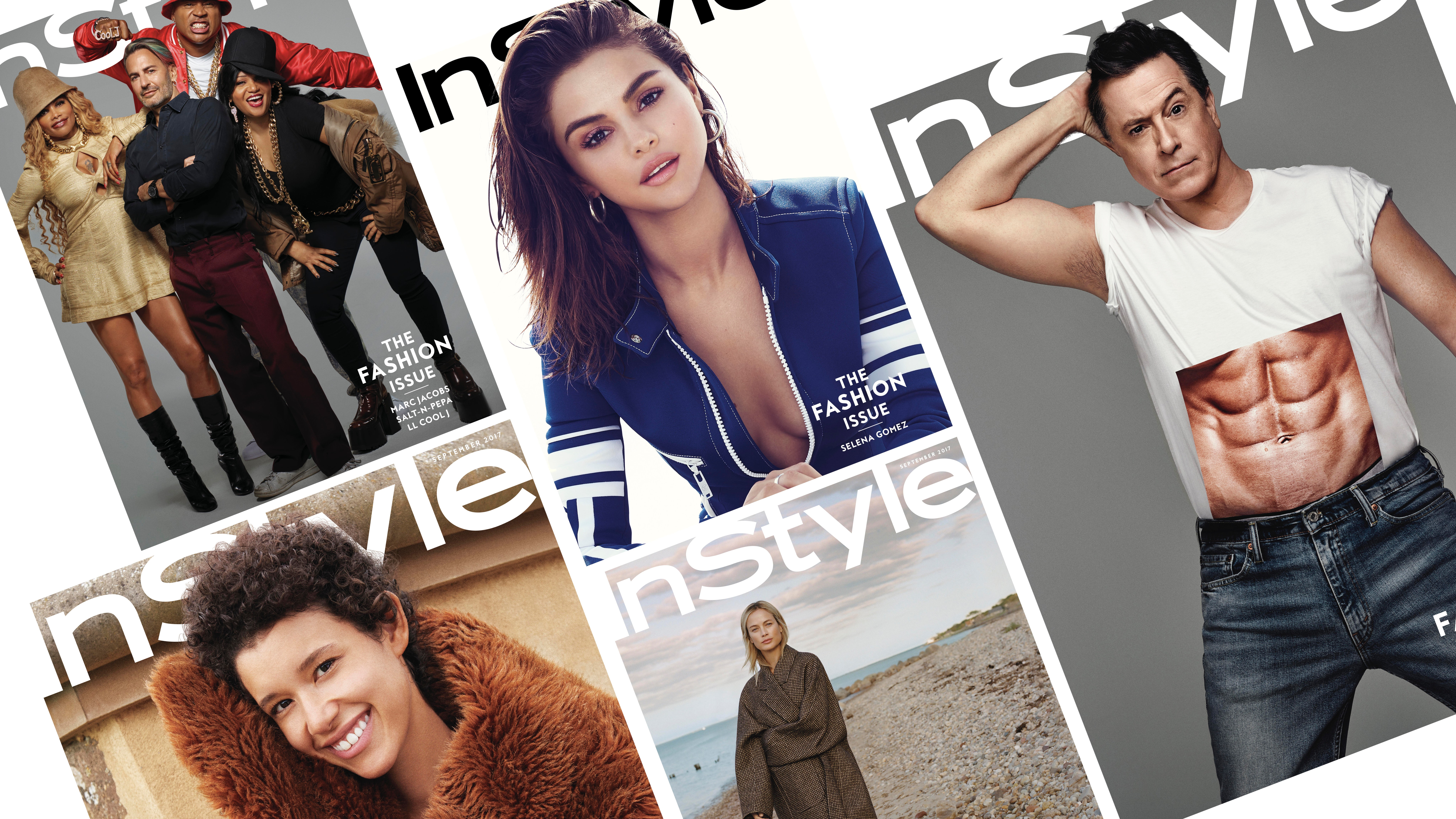 InStyle's September 2017 subscriber-only covers | Source: Courtesy