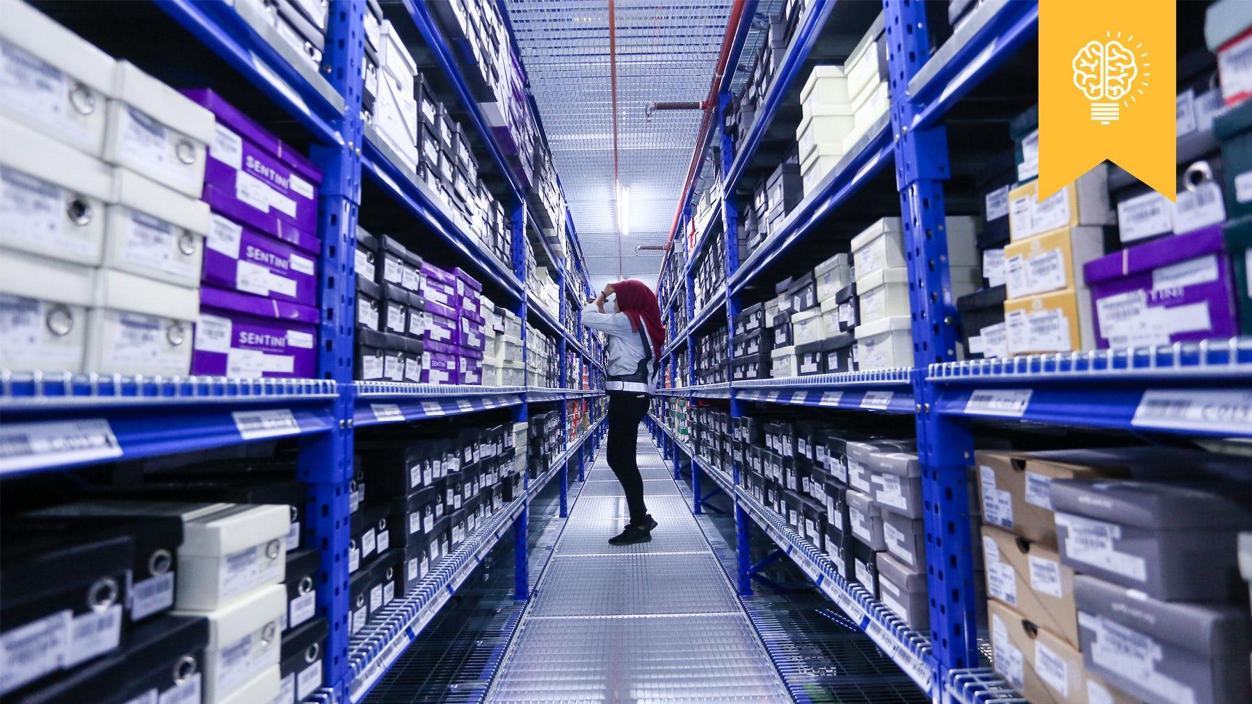 Inside a Zalora warehouse | Source: Global Fashion Group