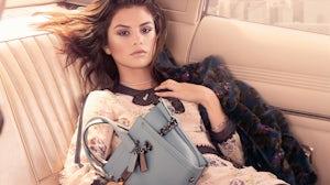 Selena Gomez for Coach | Source: Courtesy