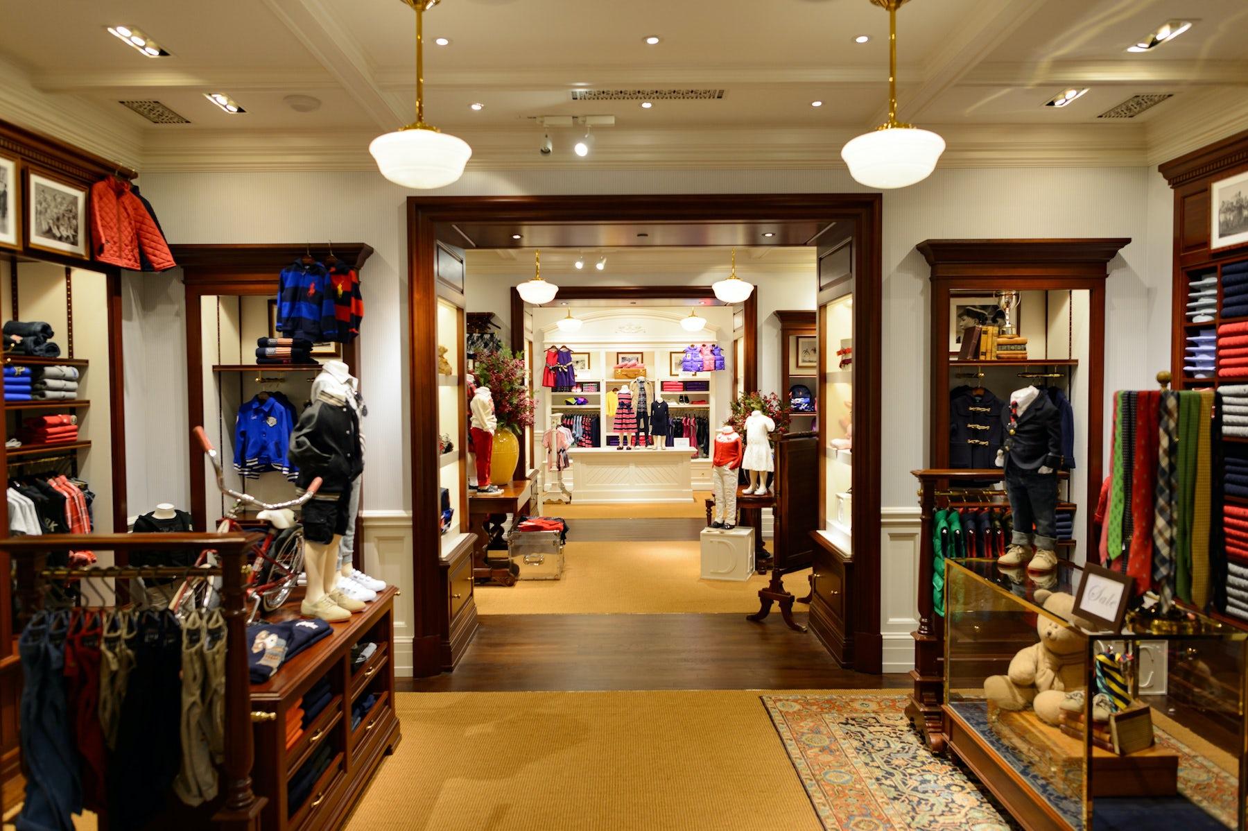 Ralph Lauren store interior | Source: Shutterstock