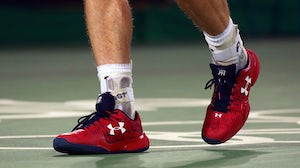 Under Armour sneakers   Source: Shutterstock