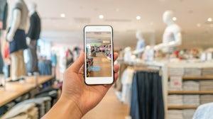 Virtual reality shopping   Source: Shutterstock
