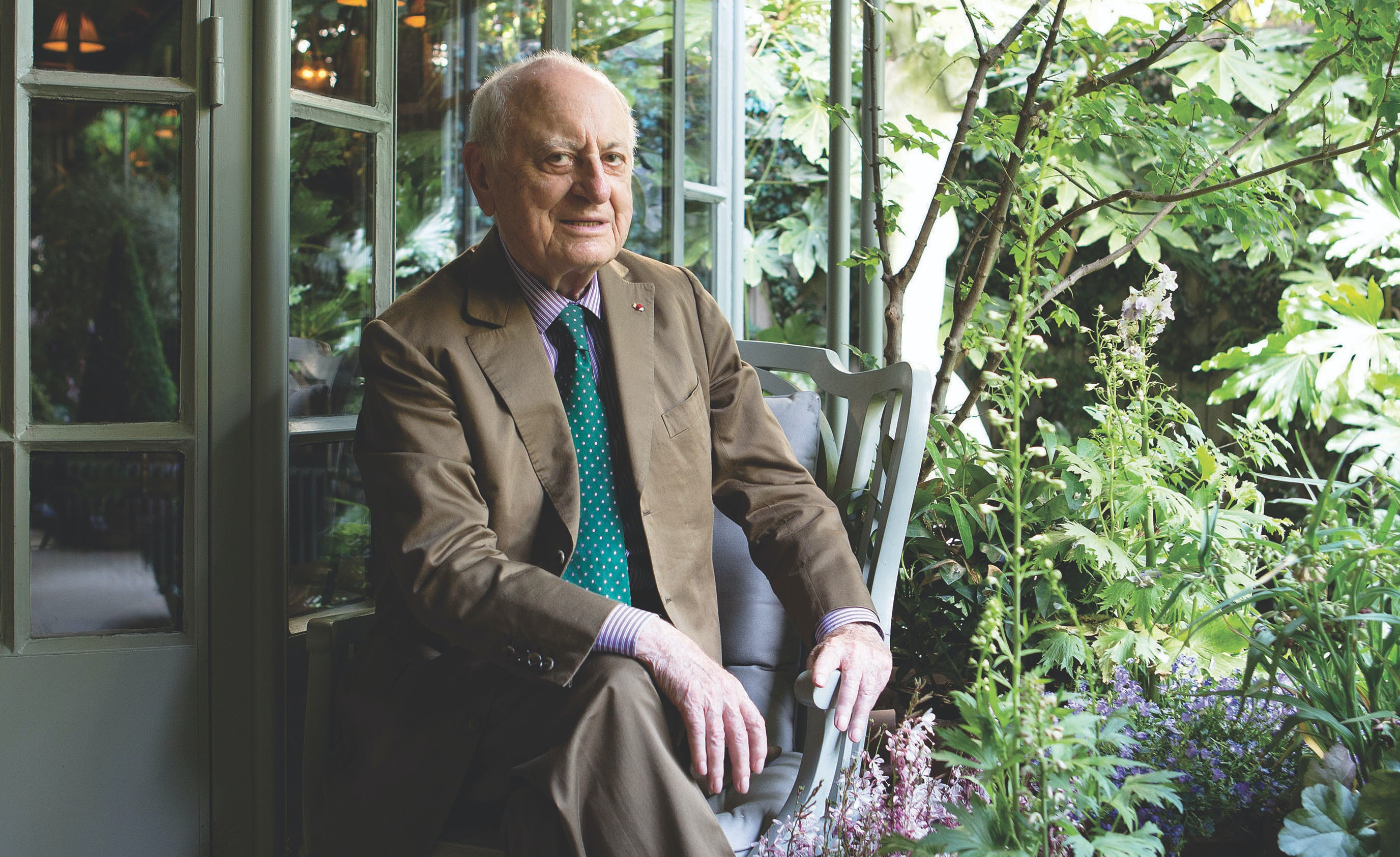 Pierre Bergé in 2015 | Photo: Eric Jansen