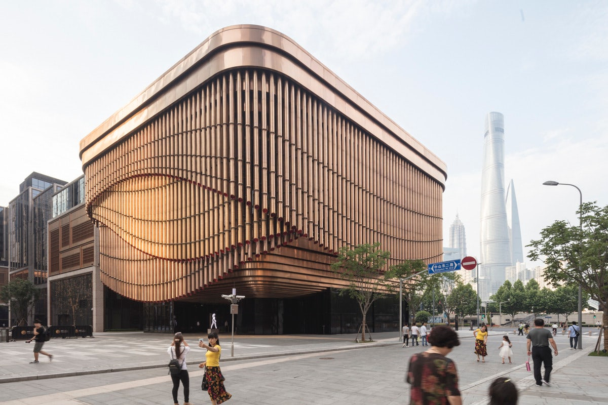 The Fosun Foundation, Shanghai, China | Source: Courtesy
