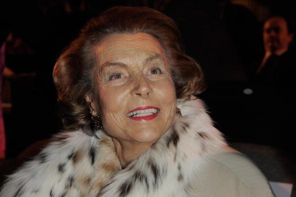 Liliane Bettencourt pictured in 2009 | Source: Getty