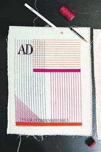 Block printing and embroidery by Maximiliano Modesti. Photo by Ashish Sahi | Source: Courtesy