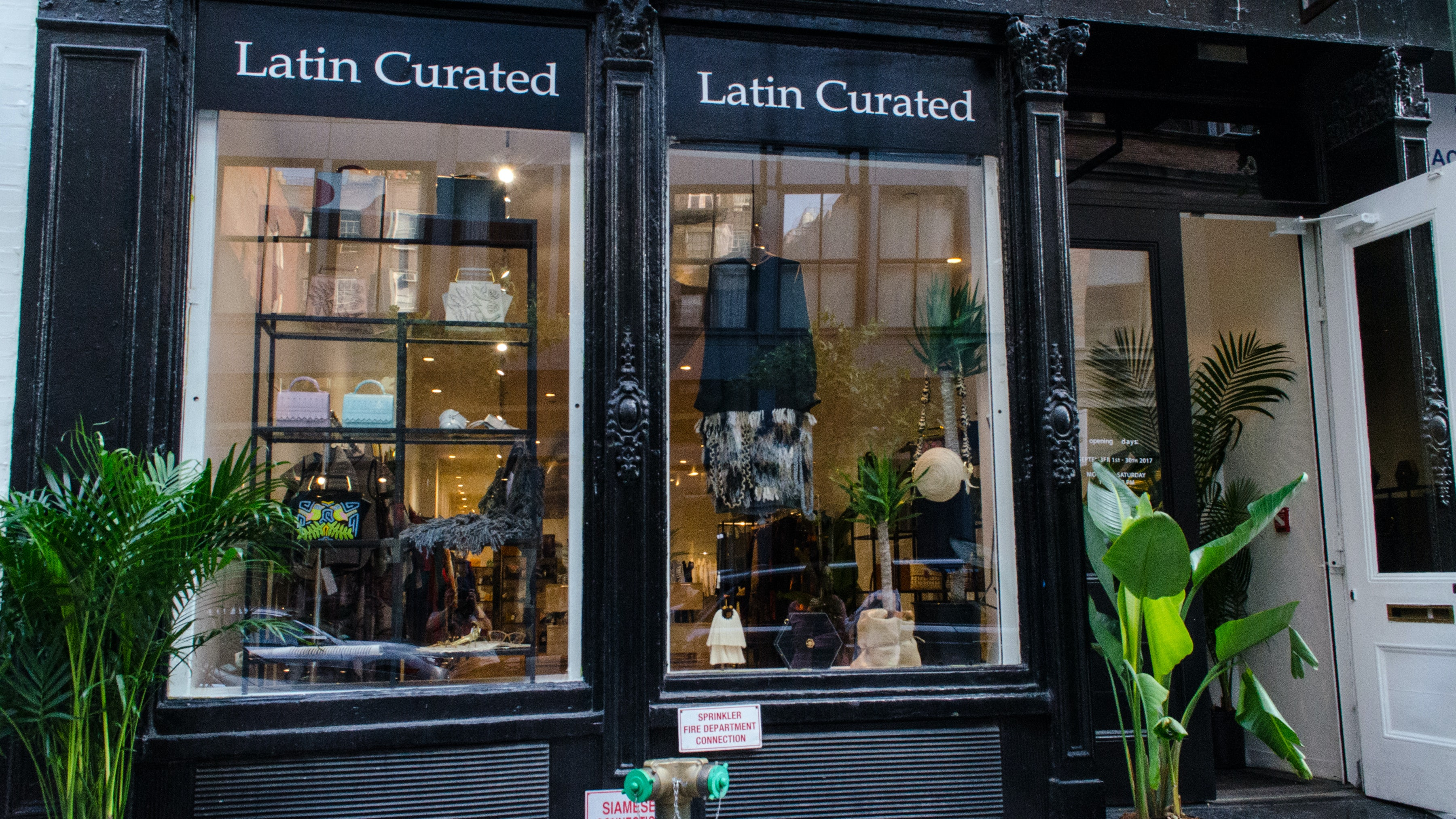 The Latin Curated store front | Source: Courtesy