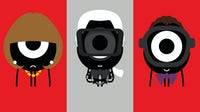 Anna Wintour, Karl Lagerfeld and Alber Elbaz   Illustrations by Darcel Disappoints