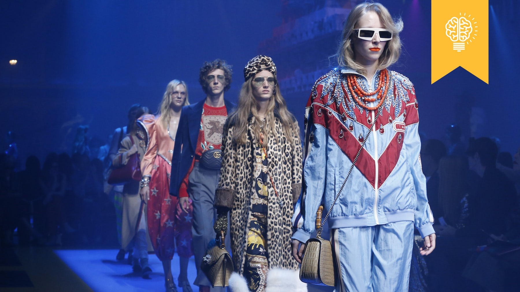 Gucci Spring/Summer 2018 | Source: Courtesy