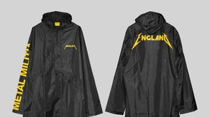 Metallica x Selfridges raincoat | Source: Courtesy