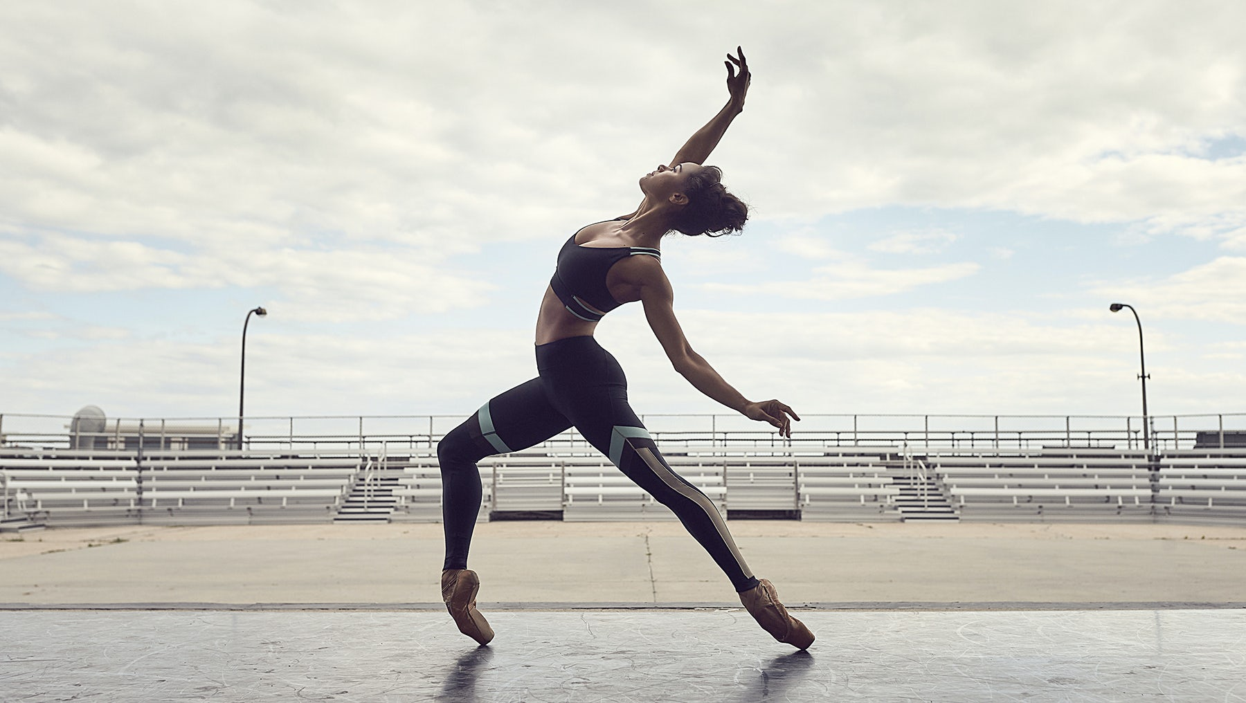 "Misty Copeland in Under Armour's campaign ""Unlike Any"" 