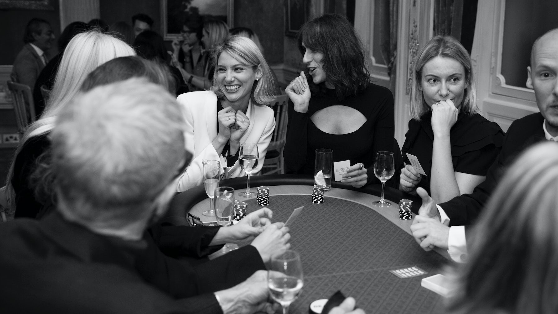A Gentlewoman Club cards night at Savile Club with Browns Fashion, hosted by editor-in-chief Penny Martin (second from right) | Photo: Adam Slama