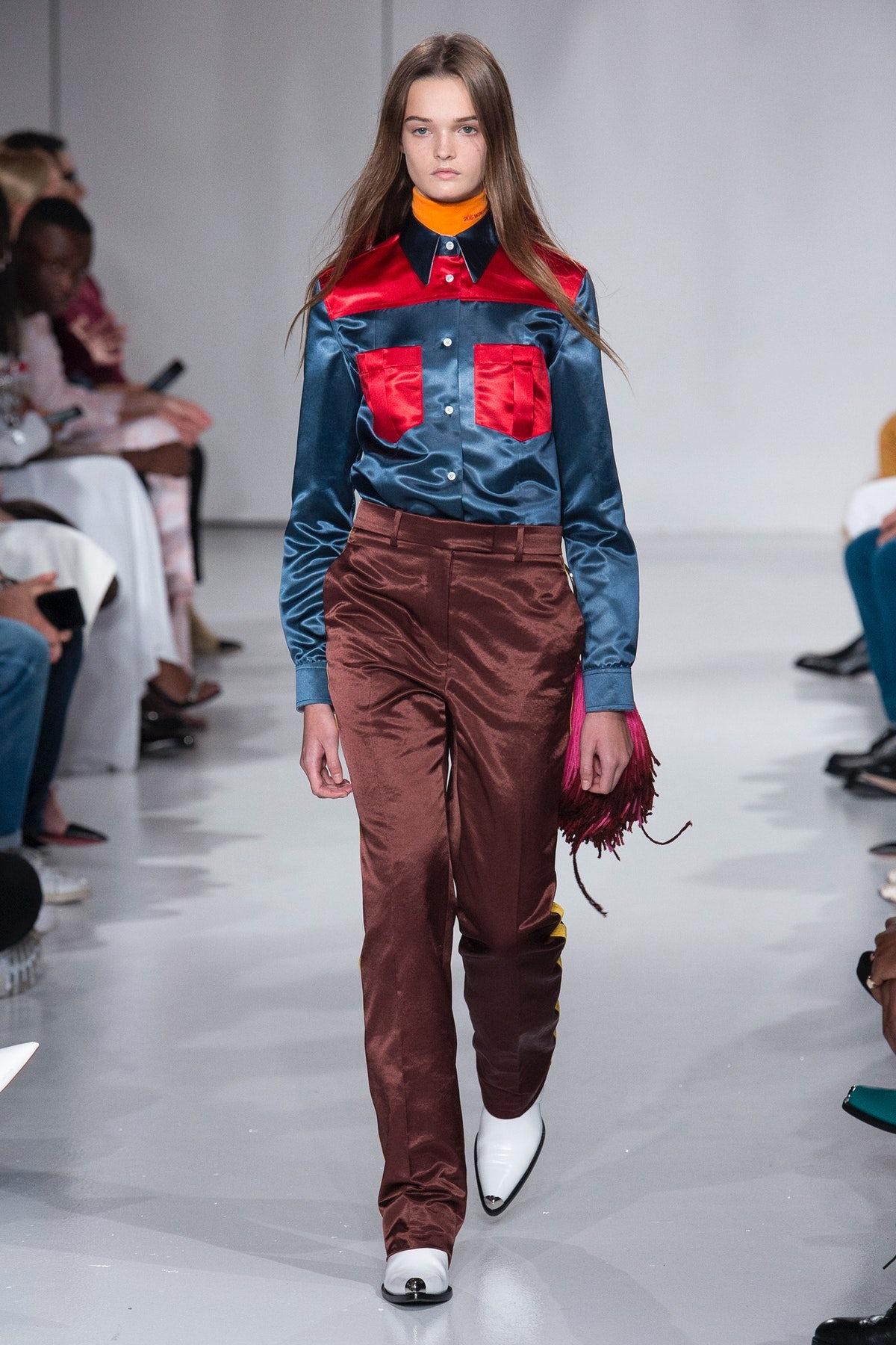 Calvin Klein Spring 2018 | Source: Indigital