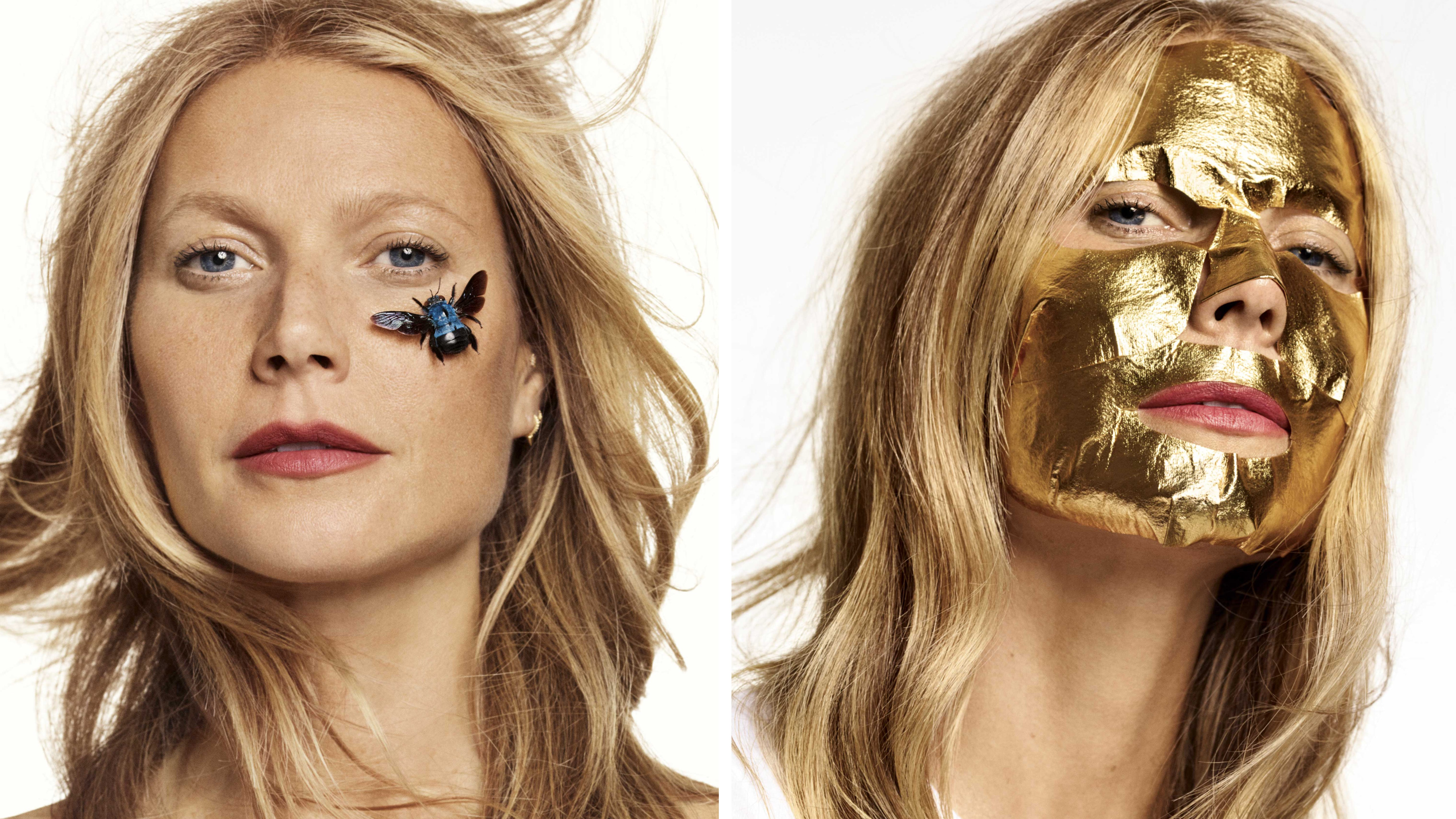 Gwyneth Paltrow inside Goop magazine | Photo: Terry Tsiolis