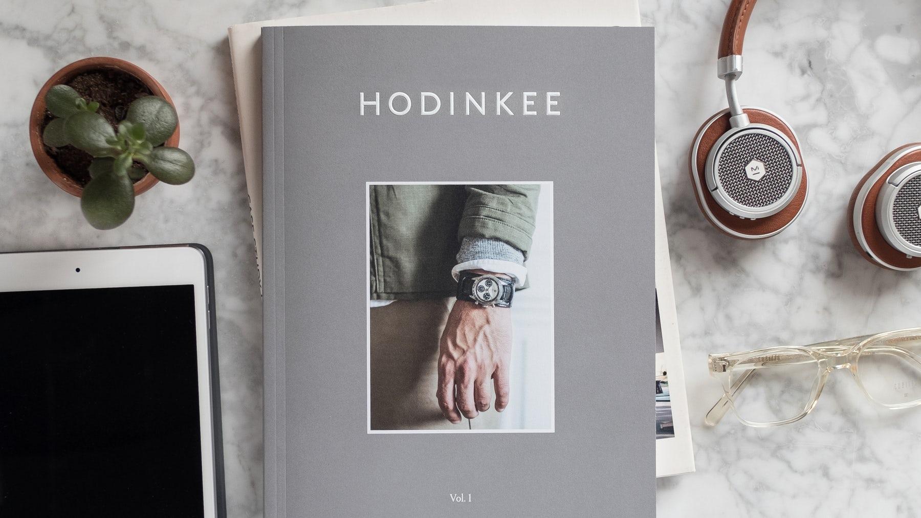 Hodinkee Magazine Issue #1 | Source: Courtesy