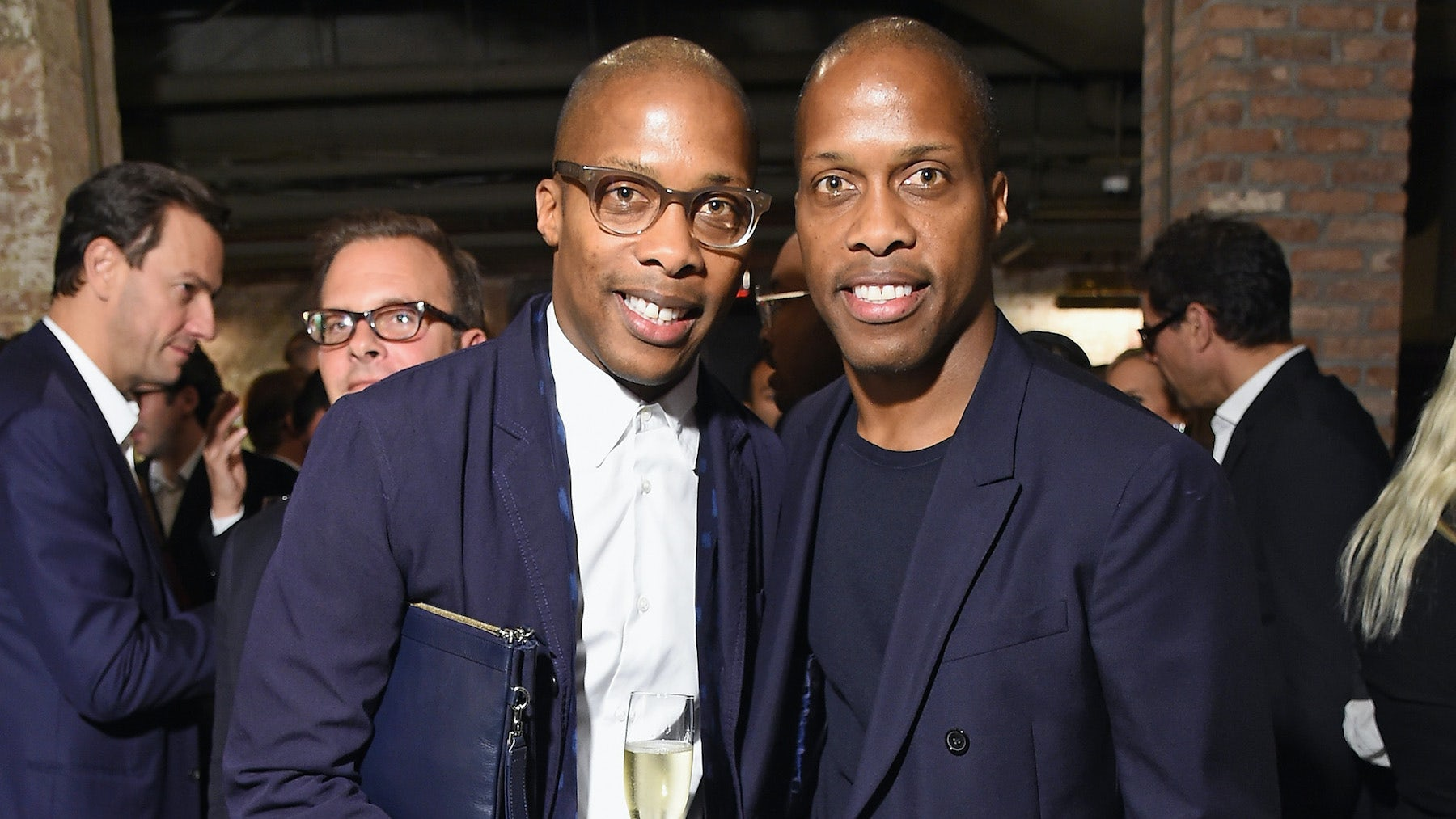 Dexter and Byron Peart   Source: Getty Images for The Business of Fashion
