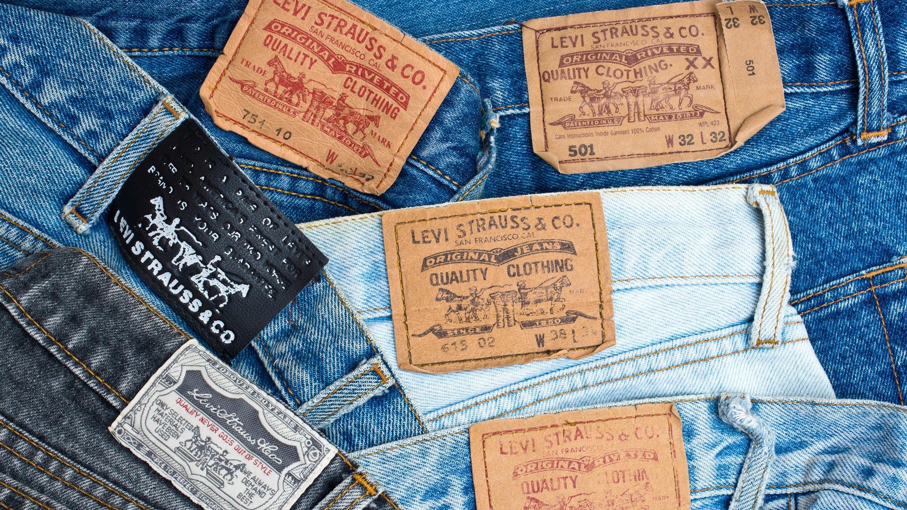 Levi's jeans   Source: Shutterstock