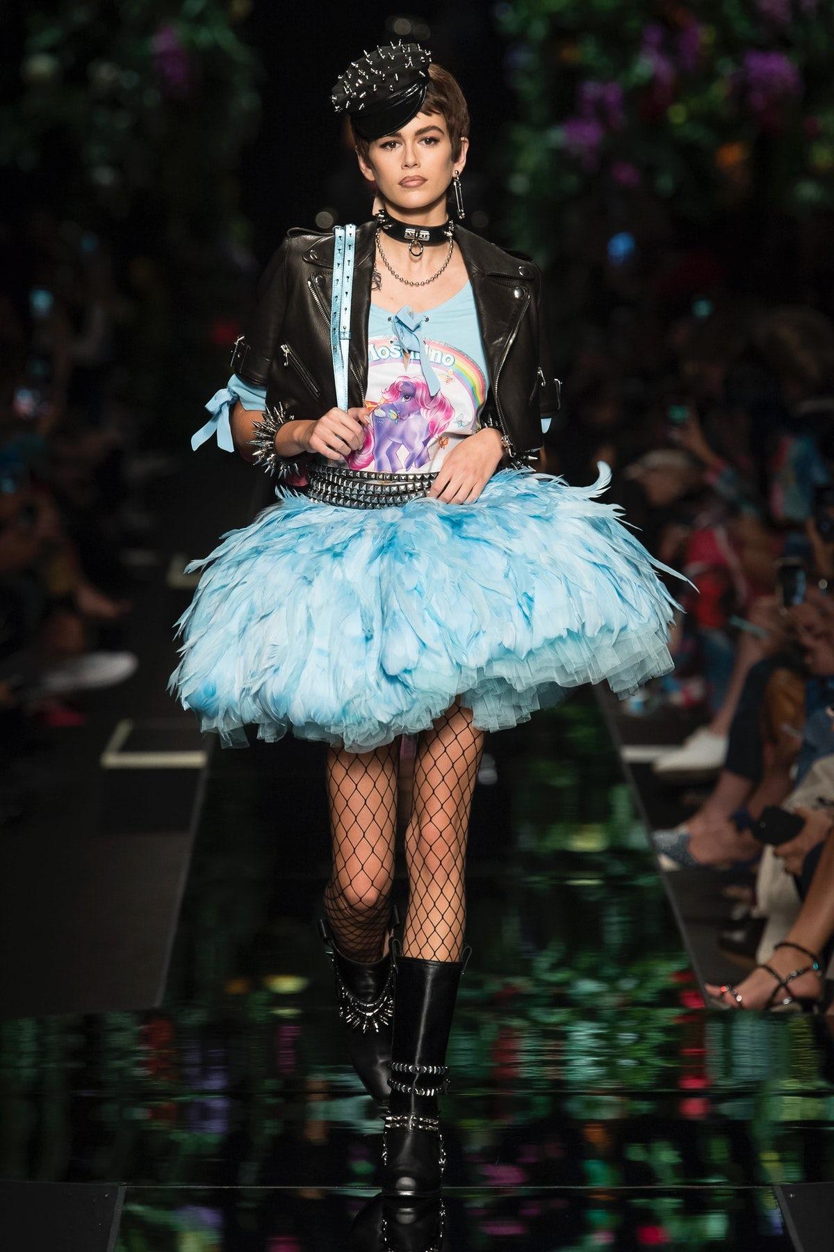 Moschino's Punk Princesses