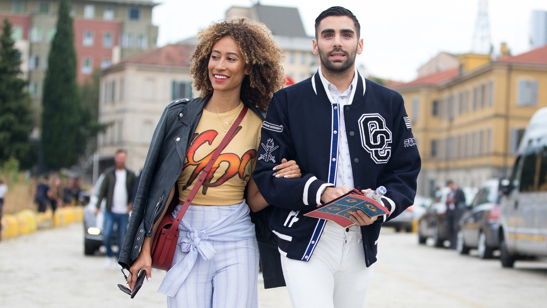 Elaine Welteroth, editor-in-chief of Teen Vogue, and Phillip Picardi, digital editorial director of Teen Vogue | Source: Getty