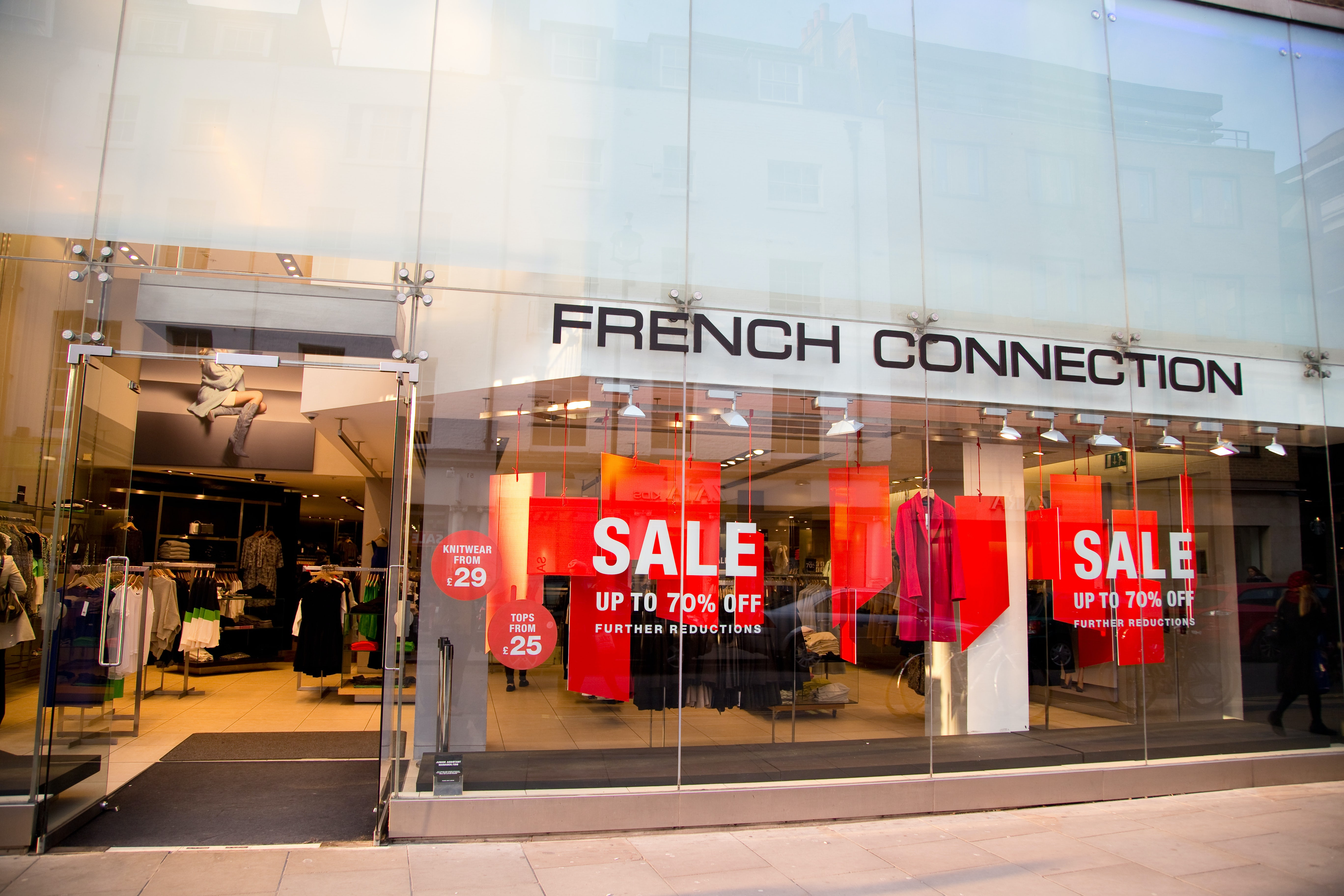 French Connection's Profit Falls After Stores Close