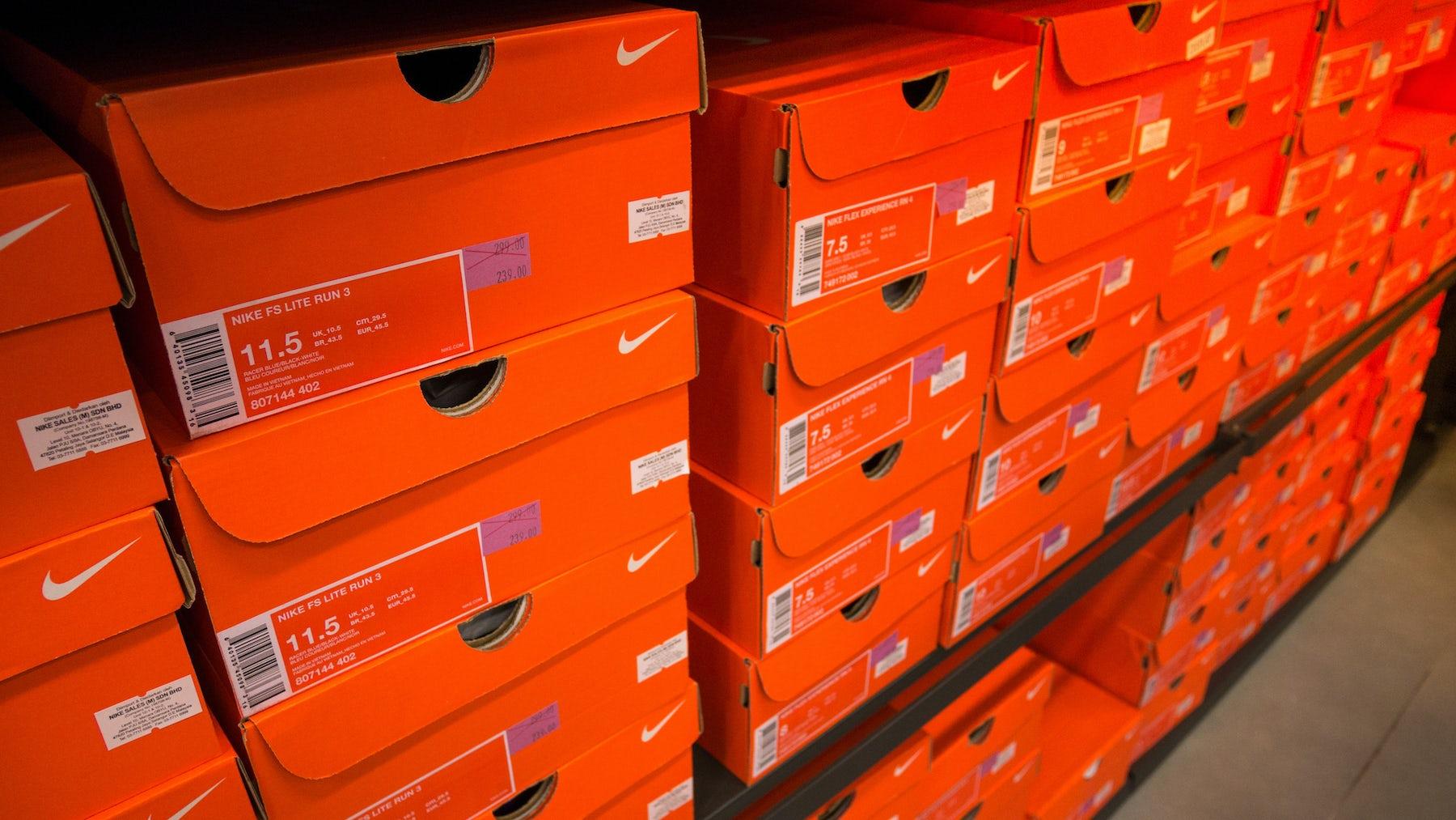 Nike Sneakers   Source: Shutterstock