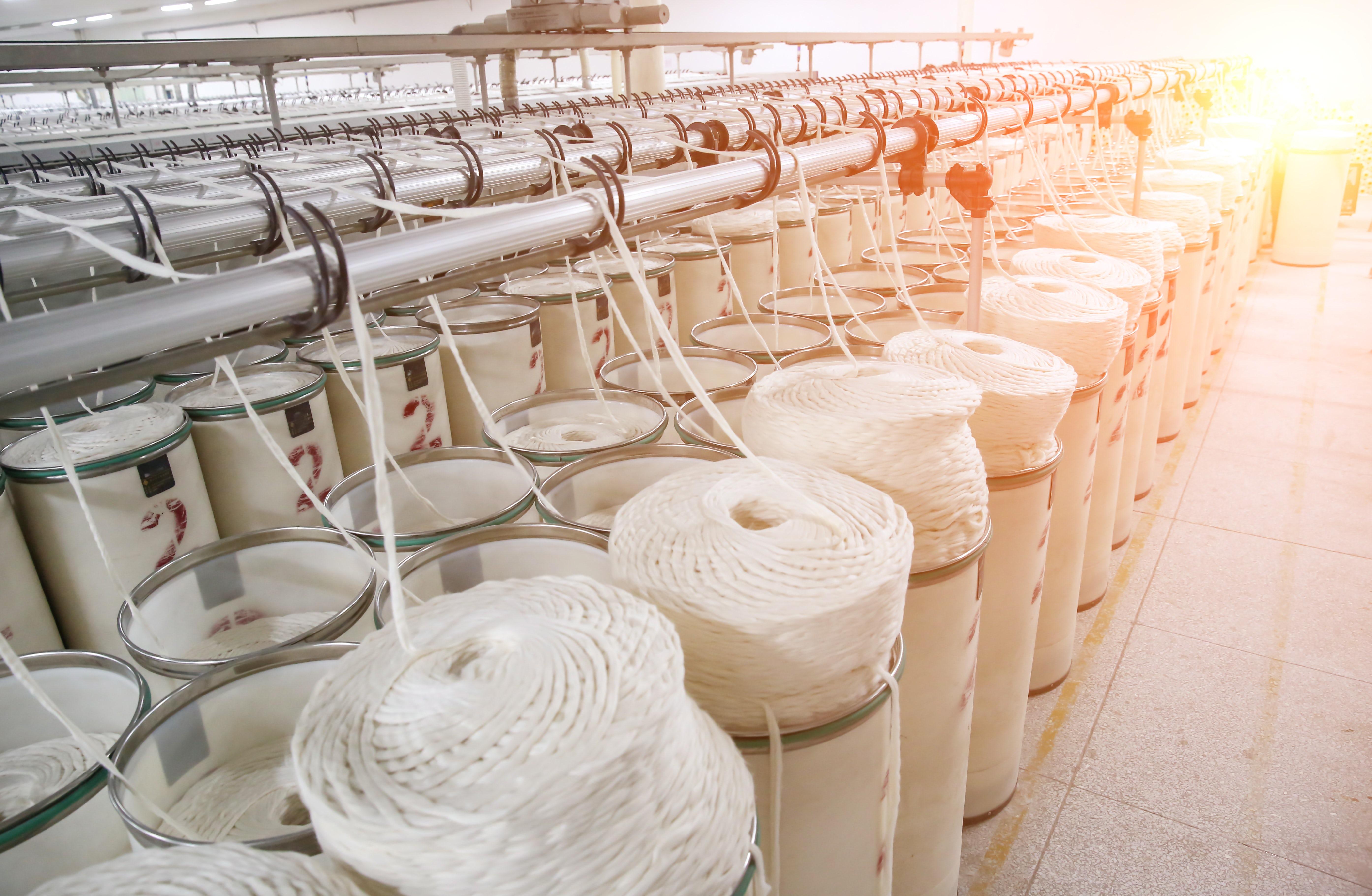 A textile factory | Source: Shutterstock
